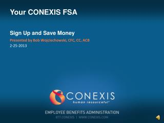 Your CONEXIS FSA