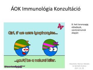 ÁOK Immunológia Konzultáció