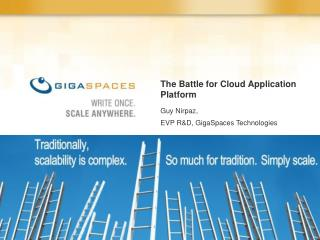 The Battle for Cloud Application Platform