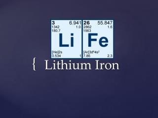 Lithium Iron