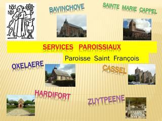 SERVICES   PAROISSIAUX