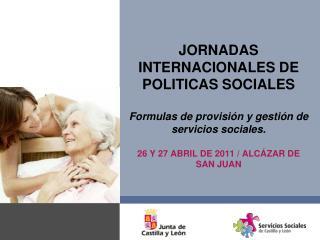 ESTRUCTURA  DE LA PROVISIÓN EN CENTROS DE SERVICIOS SOCIALES.
