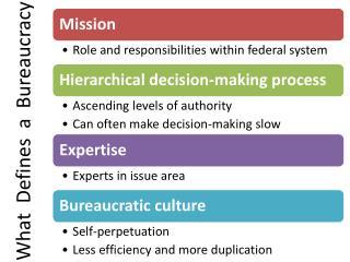 What   Defines  a  Bureaucracy