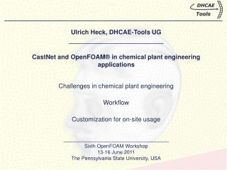 Ulrich Heck, DHCAE-Tools UG ___________________________