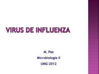 VIRUS DE Influenza