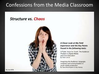 Confessions from the Media Classroom