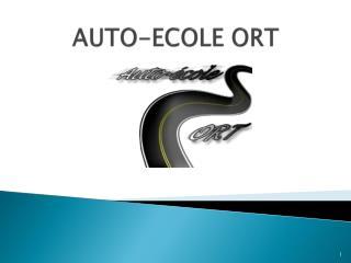 AUTO-ECOLE ORT