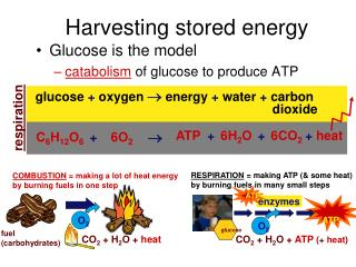 Harvesting stored energy