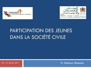 Participation des jeunes dans la société civile