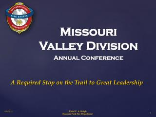 Missouri Valley Division  Annual Conference