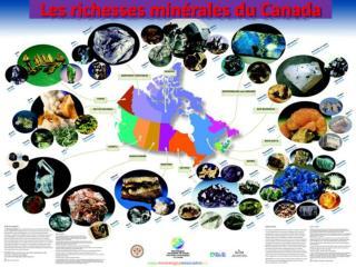 Les richesses min�rales du Canada