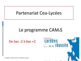Partenariat  Cea -Lycées
