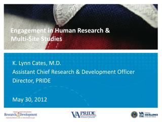 Engagement in Human Research &   Multi-Site Studies