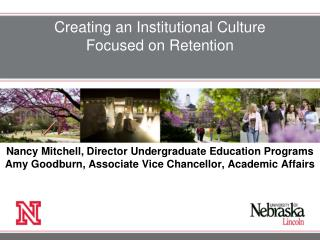 How can institutions create  a culture of change?