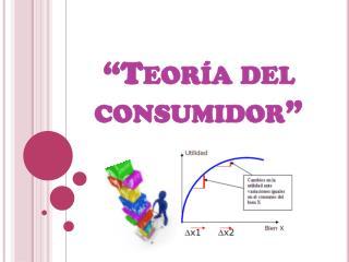 """""""Teoría del consumidor"""""""