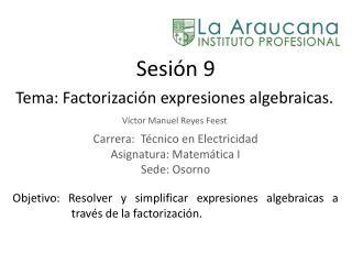 Sesión 9