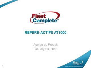 REPÈRE-ACTIFS AT1000