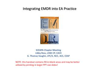 Integrating EMDR into EA Practice