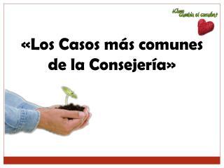 «Los  Casos  más  comunes  de  la  Consejería»