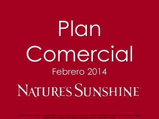 Plan Comercial Febrero 2014