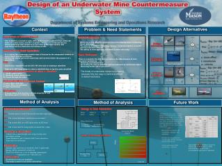 Design of an Underwater Mine Countermeasure System