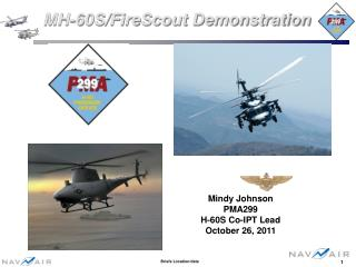 MH-60S/FireScout Demonstration