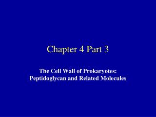 Chapter 4 Part 3