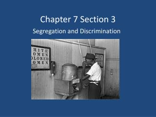 Chapter 7 Section 3