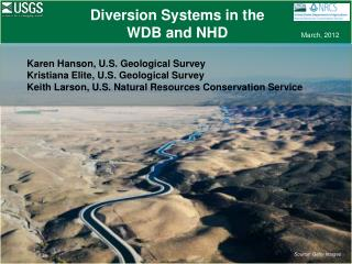 Diversion Systems in the WDB and NHD