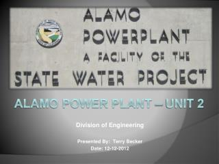 Alamo power plant – unit 2