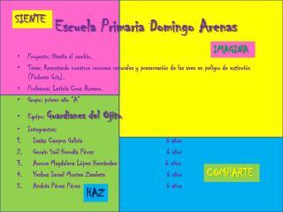 Escuela Primaria Domingo Arenas