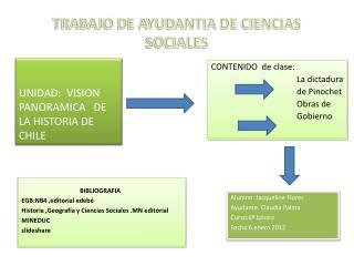 TRABAJO DE AYUDANTIA DE CIENCIAS SOCIALES