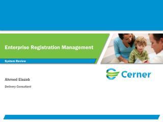 Enterprise Registration Management