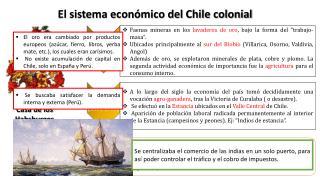 El sistema económico del Chile colonial