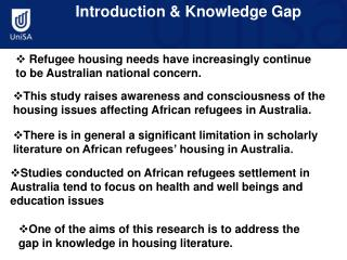 Introduction & Knowledge Gap
