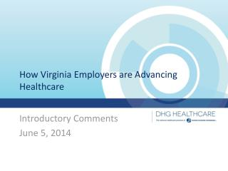 How Virginia Employers are Advancing Healthcare