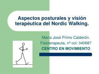 Aspectos posturales y visión terapéutica del Nordic Walking.