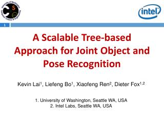 A Scalable Tree-based Approach for Joint Object and Pose Recognition