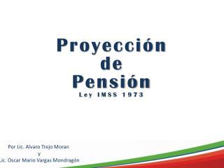 Proyección d e Pensión Ley IMSS 1973