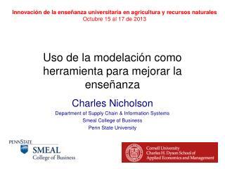 Uso  de la  modelación como herramienta para mejorar  la  enseñanza