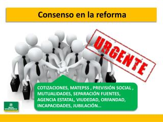 Consenso en la reforma