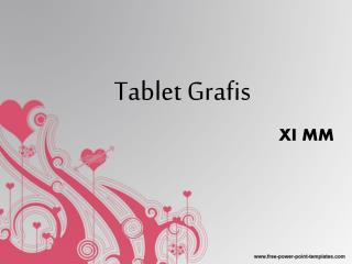 Tablet Grafis