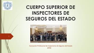 CUERPO SUPERIOR DE INSPECTORES DE SEGUROS DEL ESTADO