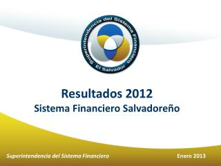 Resultados 2012 Sistema Financiero Salvadoreño
