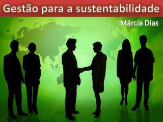 Gest�o para a sustentabilidade