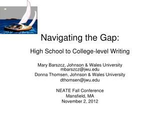Navigating the Gap: