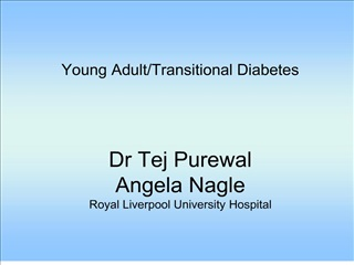 Dr Tej Purewal Angela Nagle Royal Liverpool University Hospital