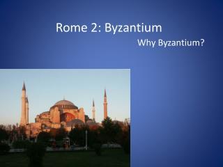 Rome 2: Byzantium