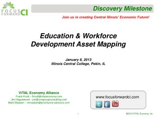 Education & Workforce Development Asset Mapping
