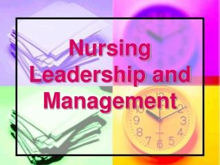 Analysis    Problem Solving  in  Nursing Leadership